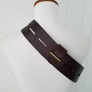 """Cabi """"Here or There"""" Genuine Leather Belt"""